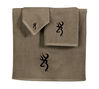 Browning Buckmark 3pc Towel Set