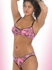 Naked North Pink Camo Lingerie Bra