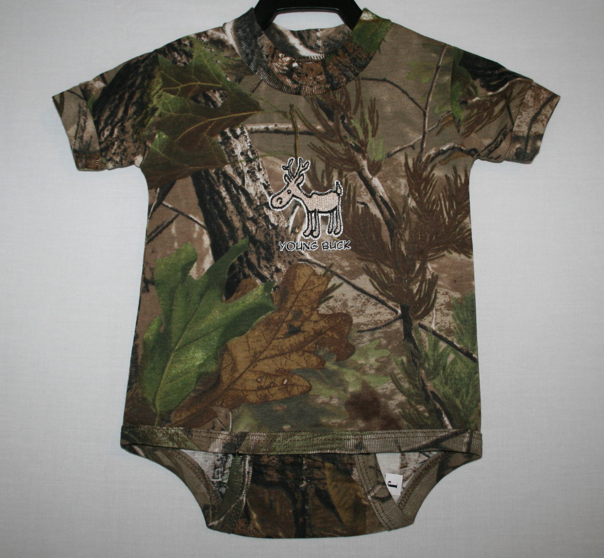 b6fdd602d36a Realtree AP Camouflage Infant Young Buck Onesie