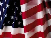 U.S. Nylon Outdoor Flag  5'X8' - Sewn Stripes and Embroidered Stars. Made in the USA.