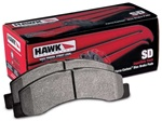 Hawk HB344P.992 SuperDuty Rear Brake Pads GMC