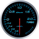 DEFI DF09903 60mm Turbo 200KPA Blue Defi Advance BF Gauge