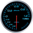 DEFI DF10003 60mm Turbo 120KPA Blue Defi Advance BF Gauge