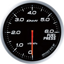 DEFI DF10301 60MM Fuel Pressure White Defi Advance BF Gauge