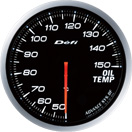 DEFI DF10401 60MM Oil Temp White Defi Advance BF Gauge
