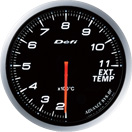 DEFI DF10601 60MM EGT White Defi Advance BF Gauge