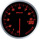 DEFI DF10702 60MM Tach 9000RPM Amber Defi Advance BF Gauge
