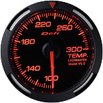 Defi 52mm Red Racer Temperature Gauge
