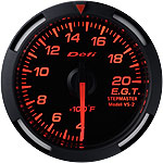 Defi 52mm Red Racer Exh. Gas Temp. Gauge