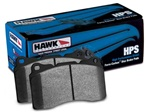 Hawk HB580F.627 HPS Rear Brake Pads Lincoln