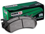 Hawk HB590Y.682 LTS Rear Brake Pads Toyota