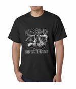 Live Slow, Die Whenever Men's T-shirt