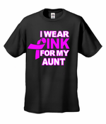 I Wear Pink For My... Men's T-Shirt