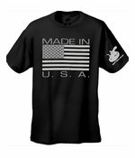 Made In The USA Men's T-Shirt (Black)