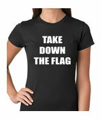 Charleston South Carolina Take Down The Flag Protest Women's T-shirt