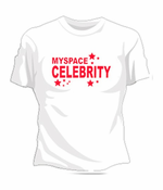 Myspace Celebrity Women's  T-Shirt