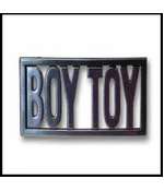 Boy Toy Buckle - Madonna Boy Toy Buckle With FREE Belt