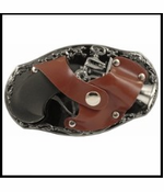 Flint Lock Gun Lighter Belt Buckle And Free Belt