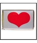 Heart Buckle With Free Belt