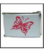 Butterfly Buckle With Free Belt