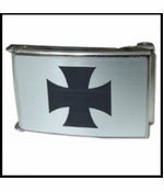 Iron Cross Buckle With Free Belt