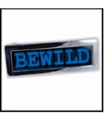 Custom LED Screen Belt Buckle (Blue)