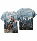 Gotti All Over Sublimation Print Men's T-Shirt