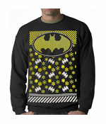 Official Batman Ugly Christmas Sweater Sweatshirt