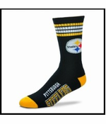 Official Pittsburgh Steelers Crew Socks