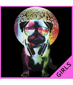 Disco Pug Women's T-shirt
