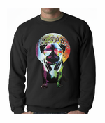 Disco Pug Adult Crewneck