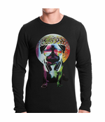 Disco Pug Thermal Shirt