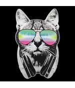 DJ Cat Men's T-shirt