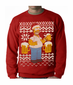 Simpsons Ugly Christmas Sweater Crewneck