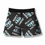 Fun Boxers - Happy Camper Boxer Shorts