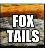 Fox Tail Fashion Keychain