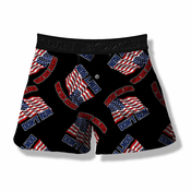 These Colors Don't Run American Flag Boxer Shorts