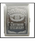 Official Jack Daniel's Cigarette Case Kings & 100's