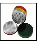 Rasta Colored Metal Grinder