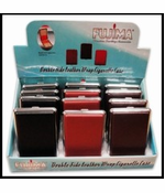 Double Sided Leather Wrap Cigarette Cases (12 Pack)