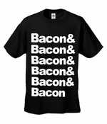 Bacon & Bacon & Bacon Men's T-Shirt