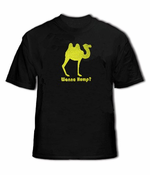 Wanna Hump? Mens T-Shirt (Black)