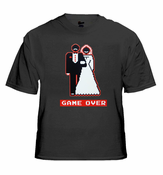 Marriage Game Over 8-Bit T-Shirt