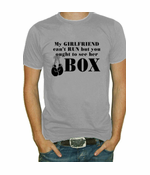 My Girlfriend Can't Run... T-Shirt