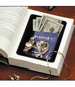 Actual Hard Cover Book with Hidden Safe