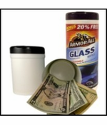 ArmorAll Glass Wipes Diversion Safe (Wipes Included)