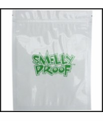 """Smelly Proof Bags 10 Pack of Medium 6 1/2"""" x 7 1/2"""" Clear Bags"""