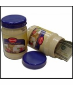 Jar Of Mayonnaise Diversion Can Safe