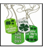 Assorted Irish St. Patrick's Day Dog Tag