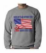 Does My Flag Offend You? Crewneck